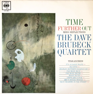 Dave Brubeck Quartet (The) ‎- Time Further Out  (LP) (VG-/VG-)